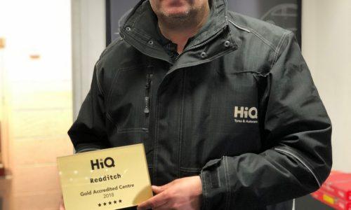 HiQ Redditch wins Gold Standard Award 2018