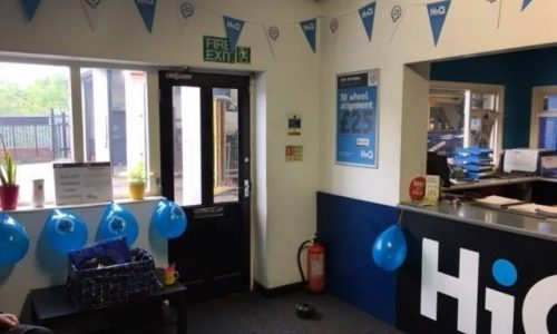 HiQ Ilkeston celebrating HiQs 25th birthday 2018- reception area