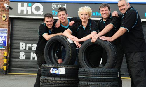 Debra and the team at HiQ Ilkeston