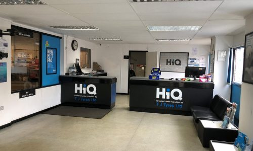 HiQ Northampton reception