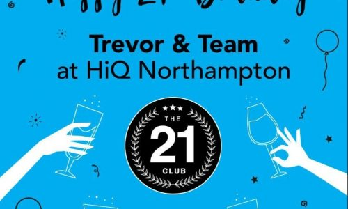 Hi Q Northampton campell street celebrated 21 years in business