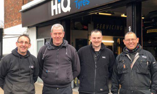 HiQ Northampton Stimson Avenue team- Anthony, Adam, Rick, Sep