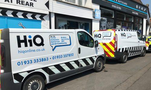 Hi Q Tyres Autocare Rushden Mobile Fitting Van