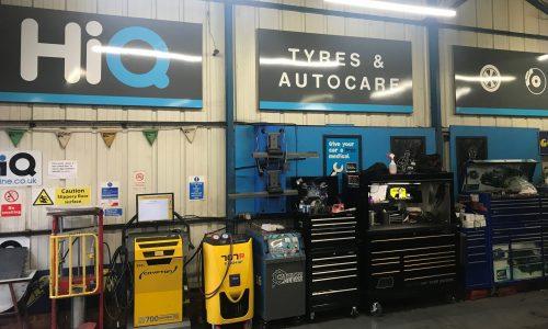 Hi Q Tyres Autocare Rushden Workshop