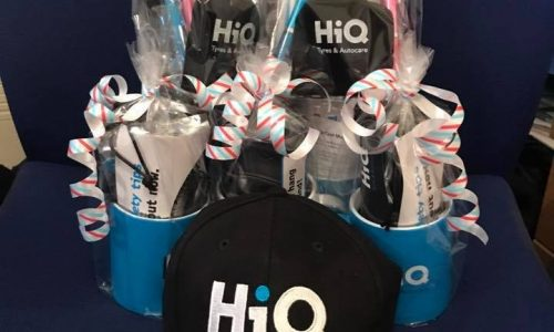 HiQ Dukinfield gift sets for customers