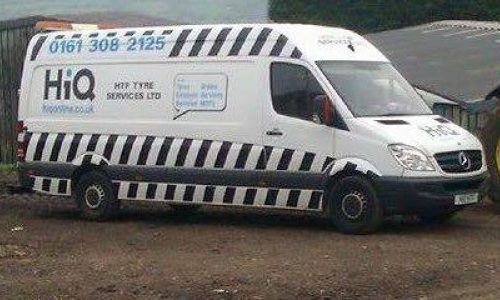 HIQ Dukinfield Commercial Mobile Tyre Fitting