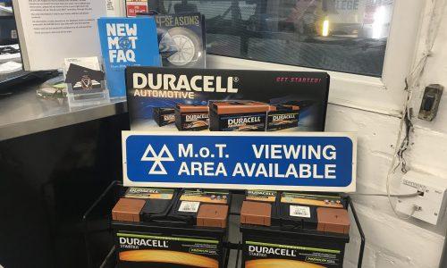 HiQ Dukinfield Duracell Batteries
