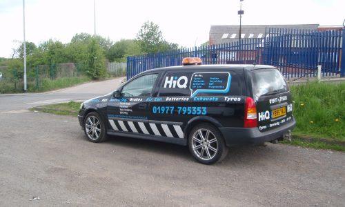 HiQ Ponterfact - tyre fitting van