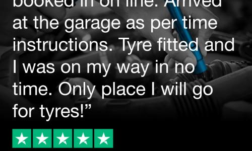 HiQ Tyres & Autocare Chester Trustpilot Review