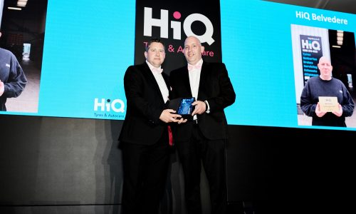 HiQ Belvedere (Stuart Francis) wins 'Fleet Service Provider of the Year' award at HiQ National Conference 2018