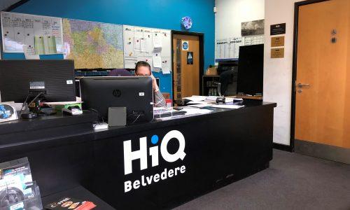 HiQ Belvedere reception