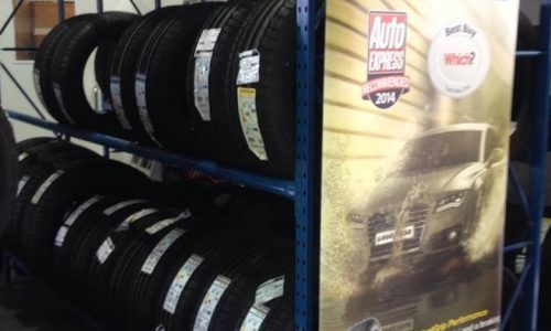 HiQ Maidstone tyres in stock at all price points, from premium to budget.