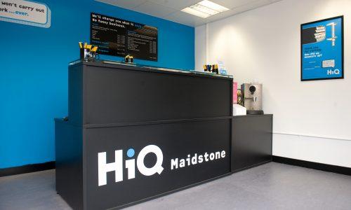 HiQ Maidstone reception