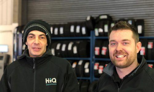 HiQ Maidstone team - Luke and Jason