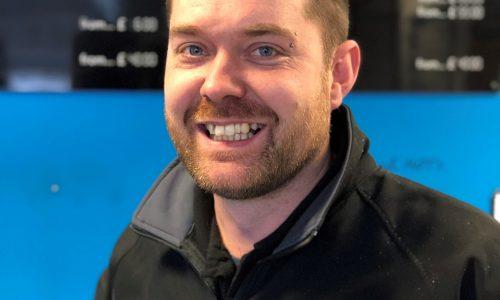 HiQ Maidstone manager - Luke Crofts