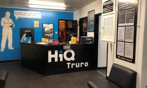 HiQ Truro Reception