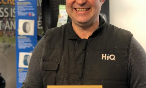 HiQ Truro (Steve Liley) win Gold Standard award 2018