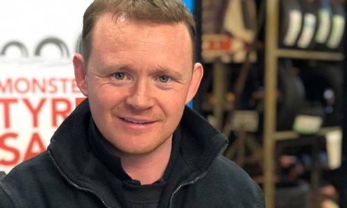 Mark at HiQ Truro receiving their Gold Standard Award 2019