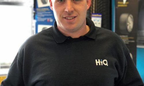 HiQ St. Austell Chris Gill with Gold Standard Award 2018