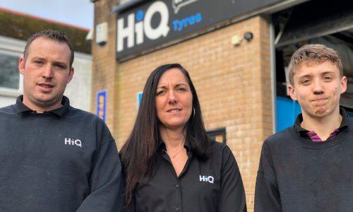 HiQ St. Austell team - Chris, Kim, Mikey