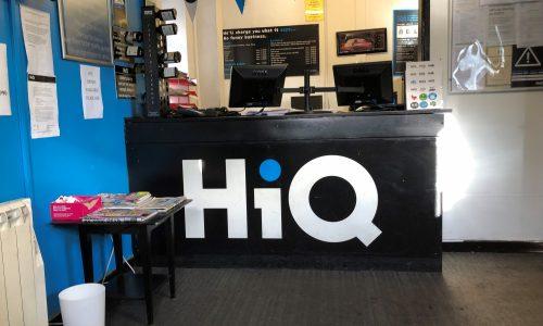 HiQ St. Austell reception
