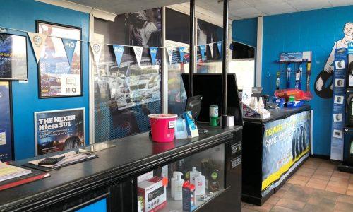 HiQ Helston reception area