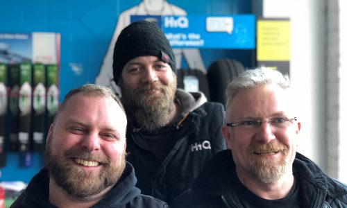 HiQ Helston team - Dave, Justin and Pedro