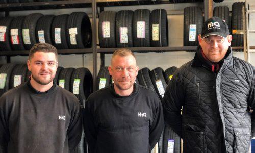 HiQ Newquay team- Todd, Darren, Kieran