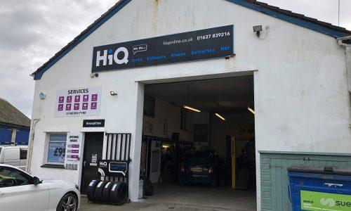 HiQ Newquay outside centre