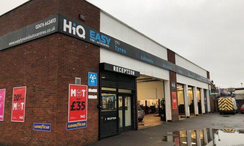 HiQ Coventry outside centre