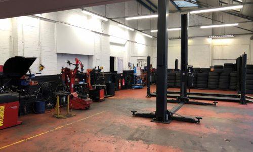 HiQ Coventry workshop