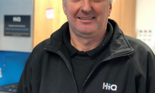 HiQ Nuneaton manager Malcolm McDowall