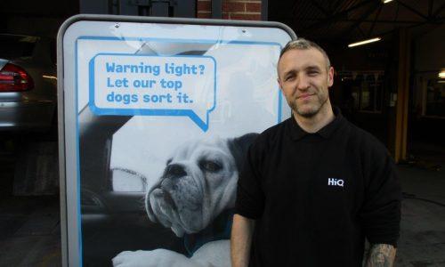 HiQ Somercotes Manager Shaun