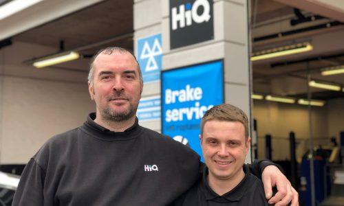HiQ Stratford-upon-Avon Team Damian and Jay