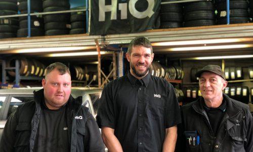 HiQ Kettering team -Adam, Andy and Daniel.