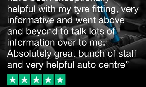 HiQ Tyres & Autocare Kettering Trustpilot Review