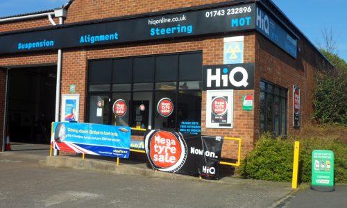 HiQ Shrewsbury entrance