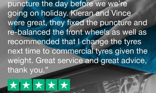 HiQ Tyres & Autocare Stamford Trustpilot-Review-Ian-Cornelius.png