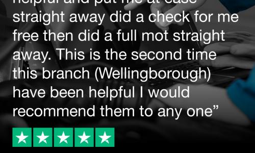 HiQ Tyres & Autocare Wellingborough Trustpilot Review