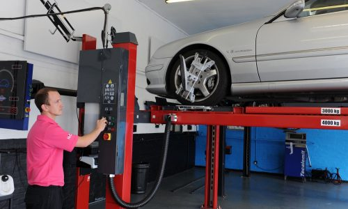 HiQ Erdington new wheel alignment machinery
