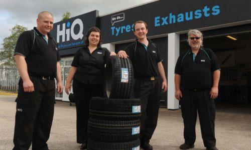 HiQ Erdington Team