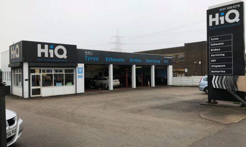 HiQ Erdington centre from outside