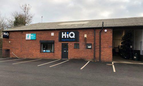 HiQ Evesham new sign 2019
