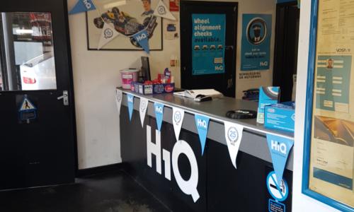 HiQ Oldbury reception area