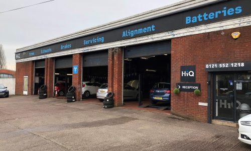 HiQ Oldbury fitting bays