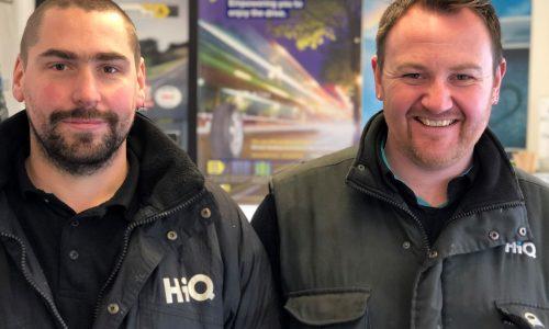 HiQ Oldbury team - Zak and Gareth