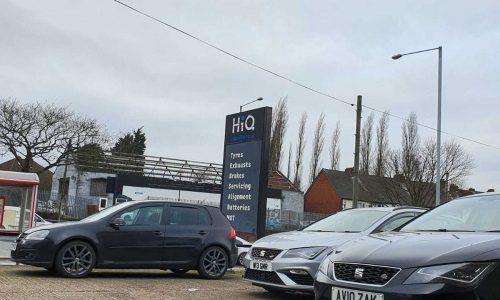 Hi Q Tyres Autocare Oldbury carpark