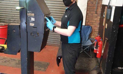 Hi Q Tyres Autocare Oldbury staff member working
