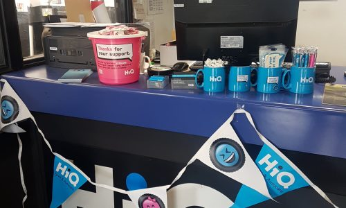 HiQ Stafford raising money for Breast Cancer Care 2018