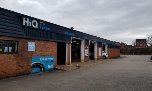 Hi Q Tyres Autocare Telford exterior
